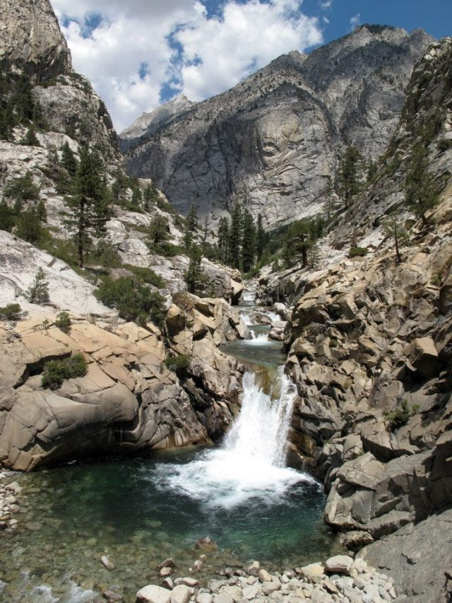 muir waterfall
