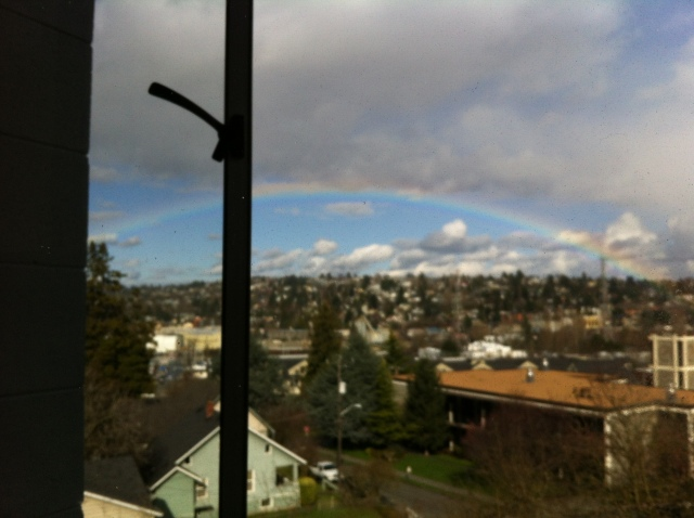 Seattle, Washington.  Dorm room with a view.Thank you Sarah Peterson!