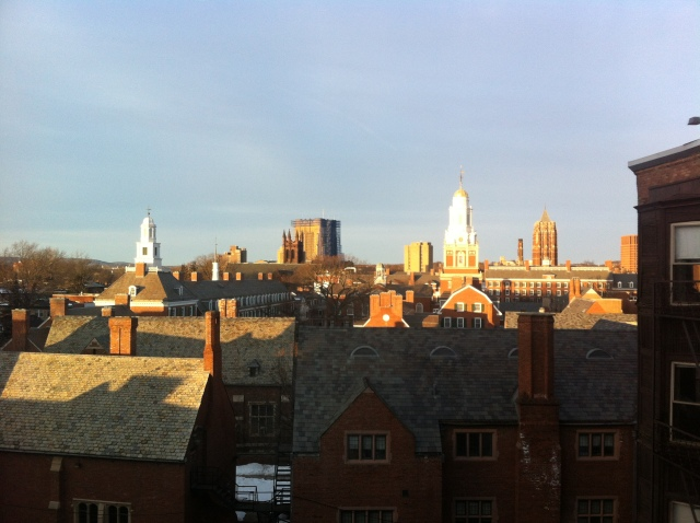 March morning from Yale University, New Haven ConnecticutThank you Trevor Peterson